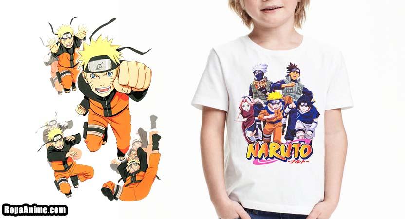 camiseta naruto niño comprar