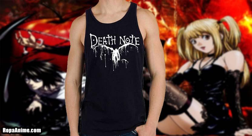 camiseta tirantes death note