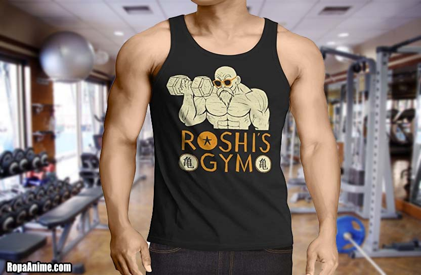 camisetas dragon ball gym