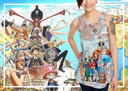 Camisetas One Piece 2
