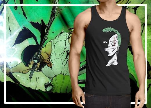 Camisetas One Piece de Tirantes
